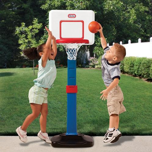 Little Tikes sulankstomas krepšinio stovas mažiems vaikams 76 - 121 cm
