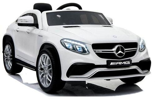 Akumuliatorinė mašinėlė Mercedes GLE63 Coupe White