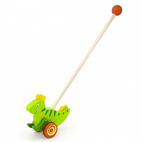 """Medinis stumiamas dinozauras """"Viga Toys"""""""
