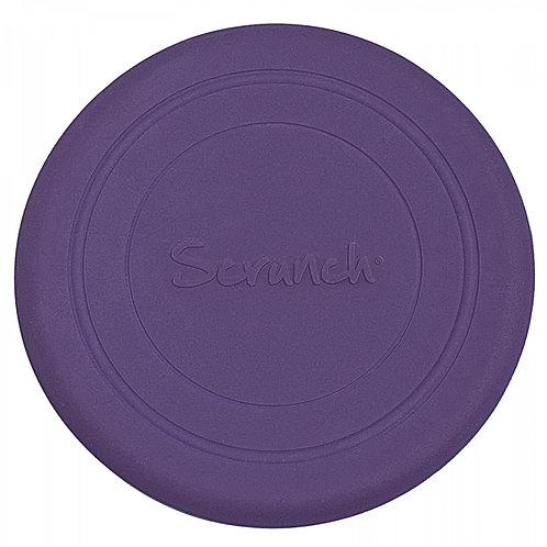 """,,Scrunch"""" silikoninė mėtymo lekštė, Purpurinė"""