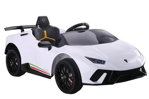 Akumuliatorinė mašinėlė Lamborghini Huracan White