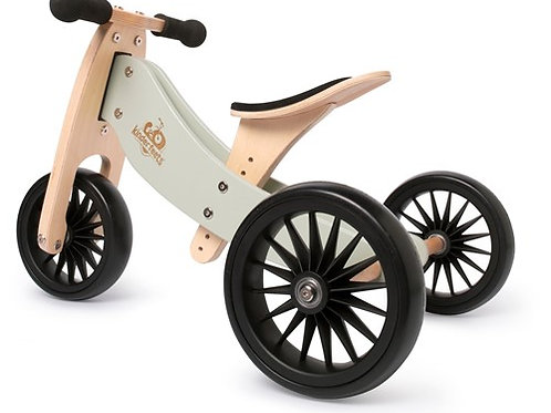 Balansinis dviratukas Kinderfeets Tiny Tot Plus Silver Sage