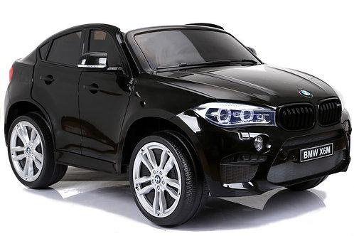 Akumuliatorinė mašinėlė BMW X6M Black