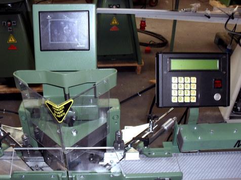 Morso EH, electric/hydraulic mitring machine.