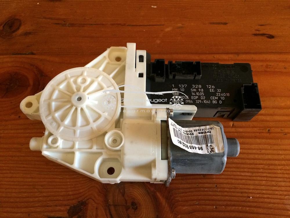 motor limpiaparabrisas 407
