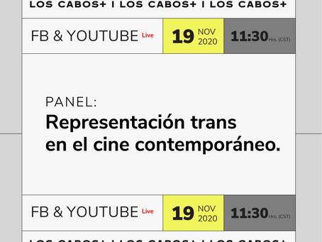 PANEL: Representación trans en el cine contemporáneo