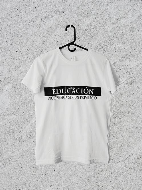Camiseta EDUCACIÓN