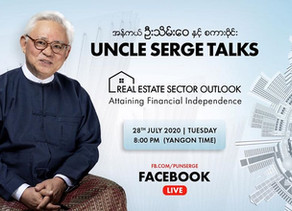Excerpts taken from FB Live by Serge Pun - Real Estate Outlook: Attaining Financial Independence