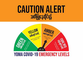 COVID-19 Health Advisory Announcement - New Level Amber