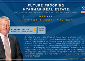 Stephen Purvis on Future Proofing Myanmar Real Estate at Colliers' Webinar