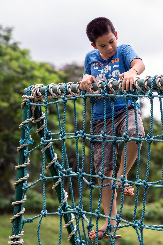 Kid at Playground