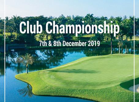 Club Championship 2019