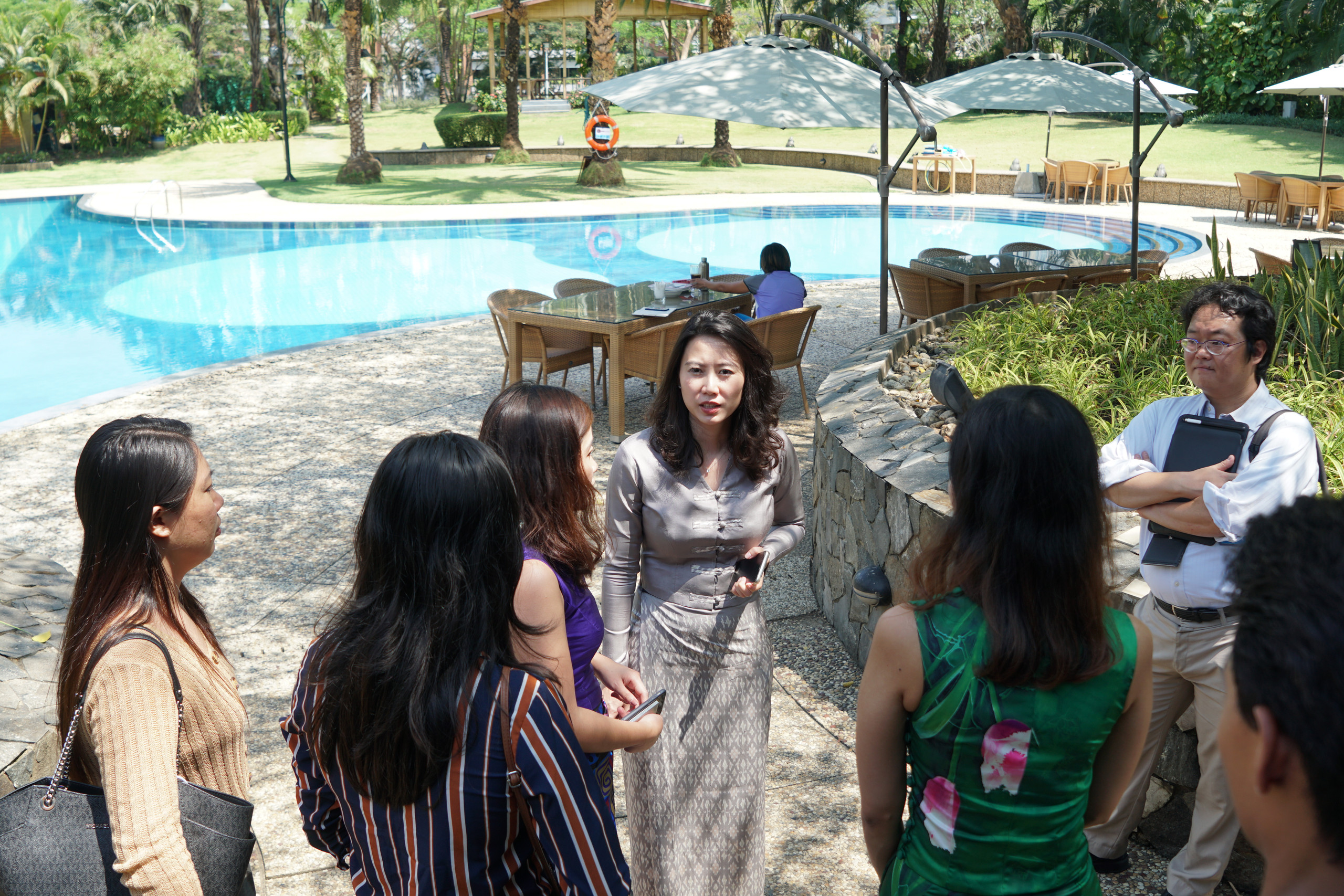 Lotus Garden Project Sale Press Conference at Pun Hlaing Estate, buying an investment property in Myanmar.