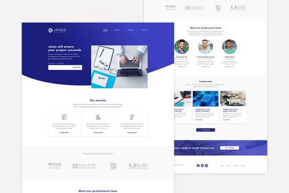 Janus Clinical Research Website  |  2019
