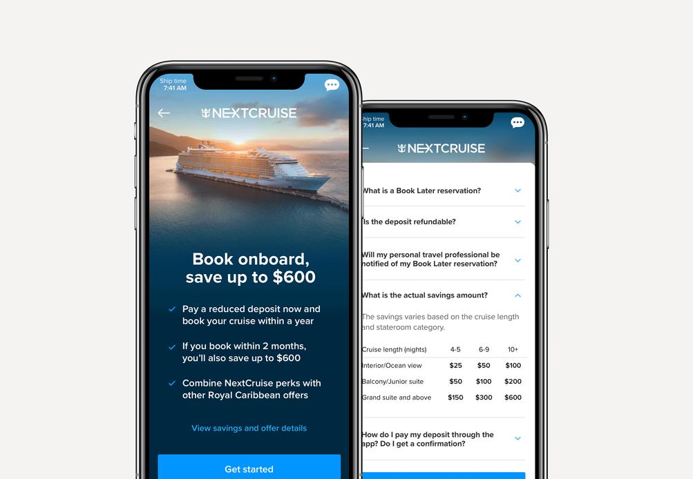 RCL NextCruise Booking  |  2019