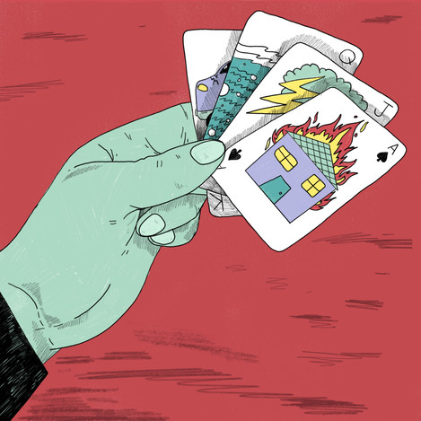Gambling with Disaster