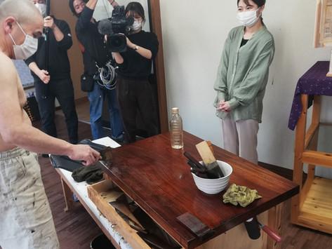 NHK お好みワイド広島の取材