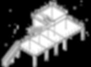 Doppelstocksystem für Messbau