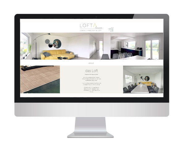 Referenz - Webdesign Loft