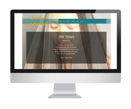 Referenz - Fotografie Webseite