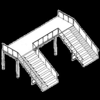 Treppen für Messebau