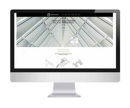 Referenz - A.M. Tragwerke - Logo & Web