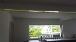 Breite Lichtlinie