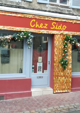 Devanture de chez Sido à Auxerre