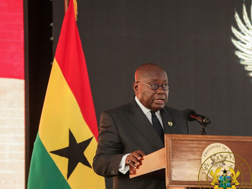 UPDATE NO.11: MEASURES TAKEN TO COMBAT SPREAD OF CORONAVIRUS BY PRESIDENT, AKUFO-ADDO
