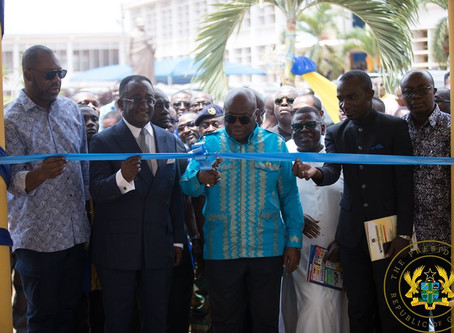 """""""GOVERNMENT INVESTING HEAVILY IN EDUCATIONAL INFRASTRUCTURE"""" – PRESIDENT AKUFO-ADDO"""