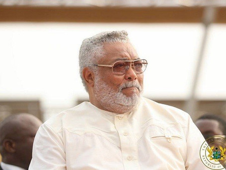 COVID-19: FORMER PRESIDENT JERRY JOHN RAWLINGS ANNOUNCES TEMPORARY CLOSURE OF OFFICE
