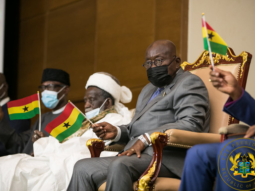 """""""I WILL ACCEPT THE VERDICT OF GHANAIANS ON 7TH DECEMBER"""" – PRESIDENT AKUFO-ADDO"""