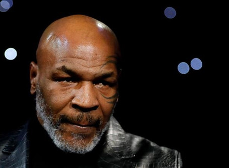MIKE TYSON PREPARES FOR POTENTIAL RETURN TO BOXING RING, RELEASING A TRAINING VIDEO SAYING 'I'M BACK