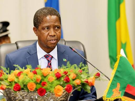 ZAMBIA: PRESIDENT EDGAR LUNGU COLLAPSES AFTER 'SUDDEN DIZZINESS'