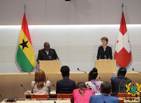 """""""WE DON'T WANT TO BE MERE PRODUCERS AND EXPORTERS OF COCOA BEANS ANYMORE"""" – PRESIDENT AKUFO-ADDO"""