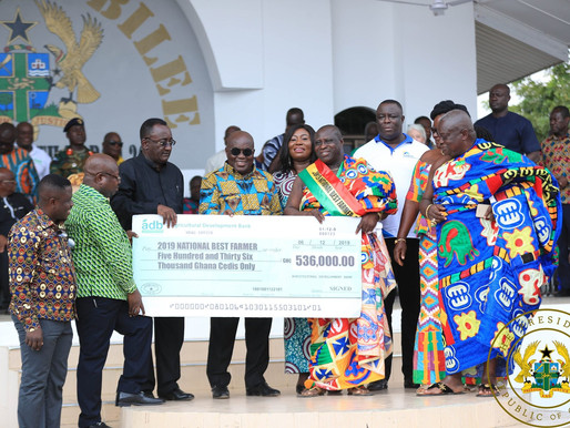 """""""PLANTING FOR FOOD AND JOBS ACHIEVING CONSIDERABLE SUCCESSES"""" – PRESIDENT AKUFO-ADDO"""