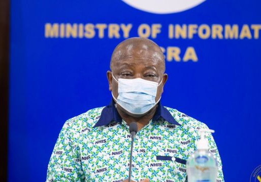 HEALTH MINISTER BACK AT WORK AFTER RECOVERING FROM COVID-19 – OKOE BOYE
