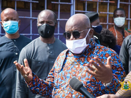GHANA ON TRACK TO DEFEAT CORONAVIRUS – AKUFO-ADDO THANKS GOD