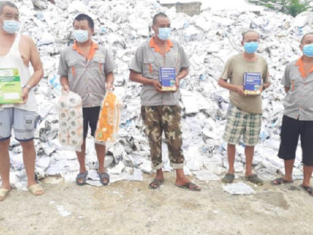 GRA GRABS CHINESE FACTORY DIVERTING GOVERNMENT TEXTBOOKS TO PRODUCE TOILET PAPERS