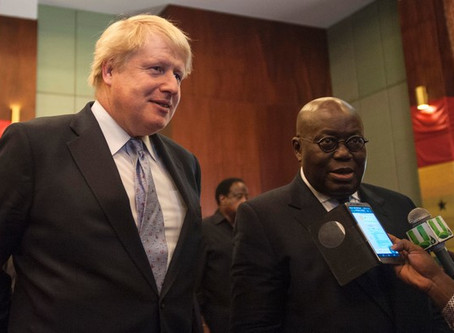 GHANA, AN IDEAL PLACE FOR BUSINESS – NANA ADDO WOOS UK INVESTORS