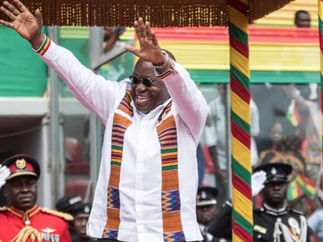 GHANA'S 63RD INDEPENDENCE DAY CELEBRATION IN PICTURES