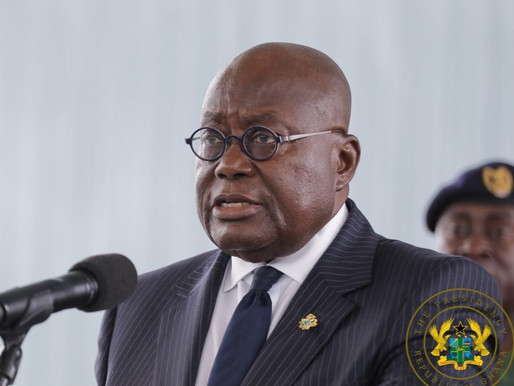 COVID-19: TWO-WEEKS 'PARTIAL' LOCKDOWN IN SELECTED AREAS - PRESIDENT AKUFO-ADDO DECLARES