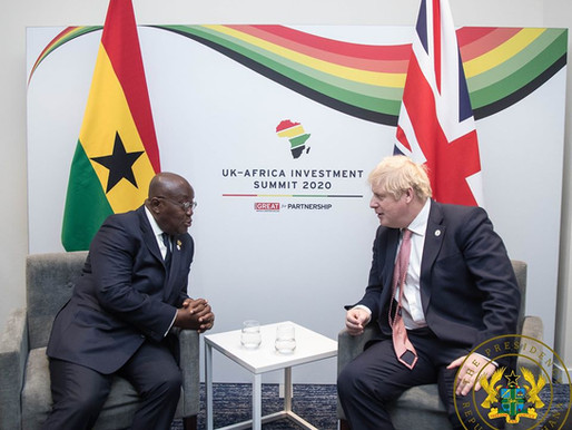 GHANA, UNITED KINGDOM PLEDGE TO STRENGTHEN TIES OF CO-OPERATION