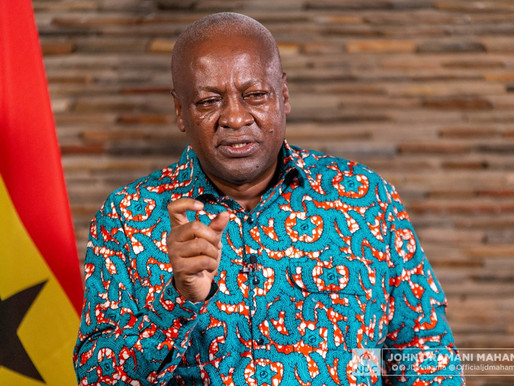 SPEECH: A DIGITAL CONVERSATION WITH JOHN MAHAMA