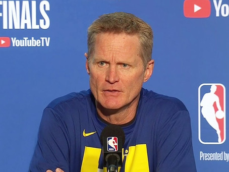 THIS IS MURDER. IT IS DISGUSTING - STEVE KERR SPEAKS AFTER GEORGE FLOYD'S DEATH