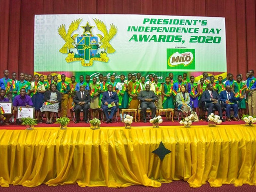VIDEO & PHOTOS: VP BAWUMIA PRESENTS 2020 INDEPENDENCE DAY AWARDS