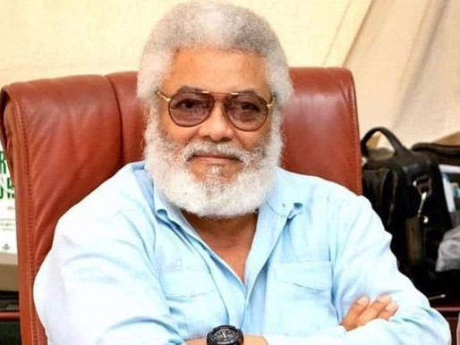 BREAKING NEWS: FMR PREZ JERRY JOHN RAWLINGS DEAD