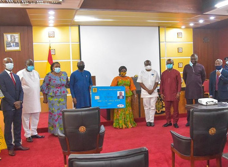 VICE PRESIDENT DR. MAHAMUDU BAWUMIA LAUNCHES DIGITAL SYSTEM FOR MICROFINANCE AND SMALL LOANS CENTRE