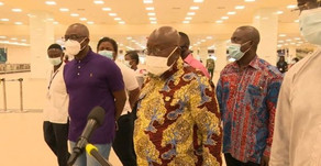 PRESIDENT AKUFO-ADDO VISITS KOTOKA AIRPORT AHEAD OF SEPTEMBER 1 REOPENING