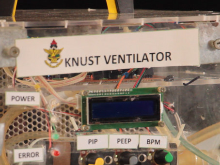 KNUST RESEARCHERS DEVELOP VENTILATOR TO SUPPORT COVID-19 TREATMENT